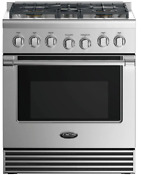 Fisher And Paykel Dcs Professional Series Rgv2305n 30 In Gas Range