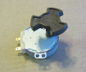 Ge Microwave Turntable Motor Wb26x10038 And Coupler Wb06x10420