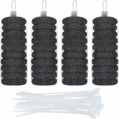 Hotop 40 Pack Lint Traps With 40 Pack Nylon Cable Ties For Washing Machine