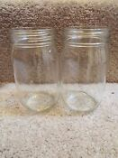 New Two Oem Jenn Air Glass Jars Grease Jar For Electric Cooktop