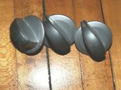 Whirlpool Kenmore Washer Dryer Selector Knob W10327523 Set Of 3