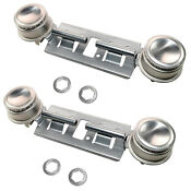 2 Pack Gas Range Double Burner Assembly Kit For Ge General Electric Jgbs Series