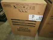 Amana Ned4655ew 29 White Front Load Electric Dryer Brand New Sealed