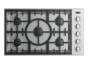 Dcs Fischer Paykel Cdv2365n 36 Inch Gas Cooktop With 5 Sealed Dual Flow Burners