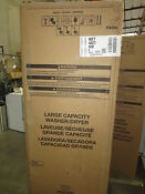 Whirlpool Wet4027hw 3 5 Cu Ft Stacked Laundry Center 9 Wash Cycles And Autodry