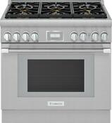 Thermador Prd366whu 36 Pro Harmony Stainless Steel Dual Fuel Range