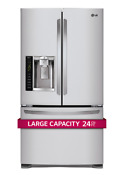 Lg 36 French Door Refrigerator 24 Cu Ft No Blemishes Lfx25974st