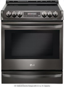 Lg 30 Slide In Electric Range Probake Convection 6 3 Cu Ft Lse4613bd