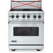 Viking Professional Series 30 In 4 Elements Pro Style Electric Range Vesc5304bss