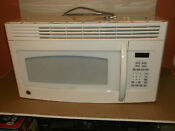 Ge Over The Range Microwave Vented White Jvm1540dm5ww Pre Owned Used Working