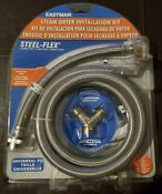 Eastman 41025 Steam Dryer Universal Hose Kit With Brass Connectors New