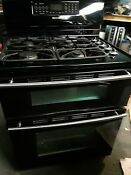 Jenn Air Dual Fuel Double Oven Range Stove With Convection