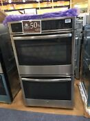 Oc0021 Pt7550sfss Ge Profile Series 30 Built In Double Wall Convection Oven