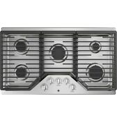Ge 36 Gas Cooktop Stainless Steel 5 Burners Jgp5036slss