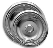 Range Kleen 2 Pack Style A Drip Pan In Chrome