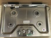 Whirlpool Wcg55us0hs00 30 Natural Propane Gas Cook Top Burner Kitchen Appliance