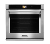 Kitchenaid 30 Single Electric Smart Wall Oven Stainless Steel Kose900hss