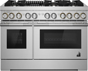 Jenn Air Rise Jdrp648hl 48 Stainless Steel Smart Dual Fuel Range W Gas Grill