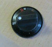 Ge Gas Cooktop Burner Knob Black Wb3k5282