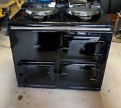 Aga Deluxe Cooker English 2 Oven Pre 1974 Refurbished For Natural Gas