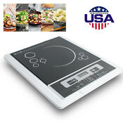 Useful Digital 2000w Electric Induction Cooktop Cooker Countertop Burner Sale