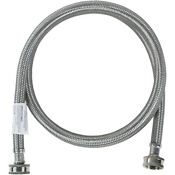 Certified Appliance Accessories Washing Machine Hose 5 Ft Stainless Steel