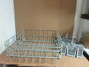 Bosch Dishwasher Lower Rack W Silverware Baskets Part 00665311