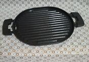 Nuwave Precision Induction Cast Iron Grill 31104 W Oil Drip Tray