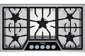 Thermador Sgsx365fs 36 Masterpiece Gas Ss Cooktop New Ships Free
