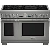 Thermador Pro Grand Series Prd486nlgu 48 Stainless Steel Dual Fuel Range