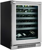 Electrolux 24 Under Counter Wine Cooler With Left Door Swing
