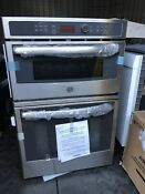 Local Pickup Only Ge Self Cleaning Microwave Wall Oven Combo
