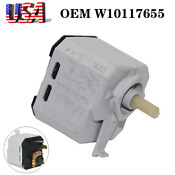 Oem Whirlpool W10117655 Dryer Push To Start Switch Wpw10117655 Ps1491565