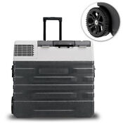 Portable Electric Cooler Freezer Fridge With Handle And Wheels 42 52 62 Liter