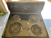 Whirlpool Electric Range With Oven Black Color