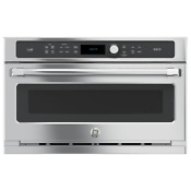 Ge Cafe Series 30 Single Wall Oven With Advantium Technology Csb9120sjss