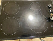 Kenmore Electric Cooktop Stovetop Cook Top Stove Black Range 4 Burner Induction