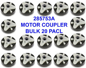 285753a Washer Coupler Coupling Metal Insert For Whirlpool Kenmore 20 Pack Bulk