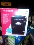 Frigidaire Portable Retro 6 Can Mini Fridge Efmis129 Black