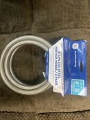 Ge 4ft Stainless Steel Washer Washing Machine Water Supply Line Hoses Set