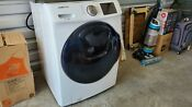 4 5 Cu Ft High Efficiency White Front Load Washer With Addwash Door In Energy