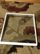 Maytag Whirlpool Side By Side Refrigerator Spill Catcher Glass Shelf 18 61004024