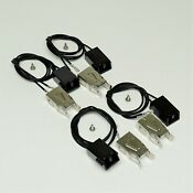 Choice Parts Wb2x8228 For Ge Range Stove Burner Receptacle Kit Package Of 4