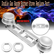 Double Gas Range Burner Stove Replace Kit For Wb16k10026 Ap2633210 Ps232404 Us