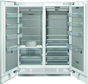Thermador T30ir905sp 30 Panel Ready Refrigerator T24if905sp 24 Freezer