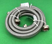 Stainless Steel Washing Machine Braided Hoses 6 Ft 5304503341 2 Pack Db8547