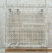 Maytag Whirlpool Dishwasher Lower Dishrack With Wheels And Shelf 99002572 Oem