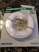 Ice Maker Supply Line Kit 1001274435 25 1 4 Od Polyethylene Tubing