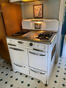 1950 S Wedgewood Stove With Broiler Griddle Heater In Great Working Condition