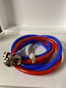 Washing Machine Hoses 4ft Universal Fit 2pack